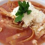 Tortilla soup. Delicious!