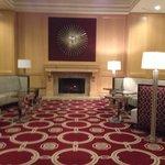 Sitting lounge area at westfields Marriott