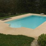 piscina nelle vigne