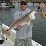 Redfish with Captain Ames