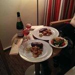 Diner met roomservice