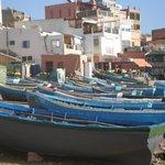 Retour de pêche à Taghazout