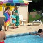Disney Fun at the Pool!
