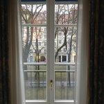 Blick durch das Fenster