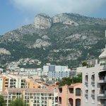 Vue depuis la chambre du Colombus Monte Carlo