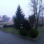 Vista di una mattina d'inverno.