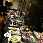 Executive lounge buffet