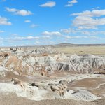Some of the beautiful scenery at Petrified Forest National Park