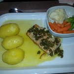 the salmon dinner again top cuisine