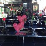 Lobby on Valentines Day