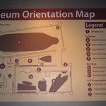 Diagram of the Museum