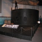 Recreation of the USS Monitor
