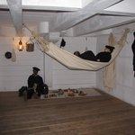 Life inside a Confederate Ship