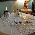 Intimate Wedding setup