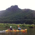 kayaking on kaua'i - doesn't get much better