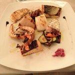 Warm Seafood Salada
