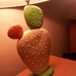 La lampe cactus et deco kitch