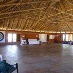 Large yoga/meditation hall