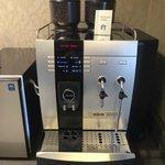 Sweet Espresso Machine in the Club Lounge