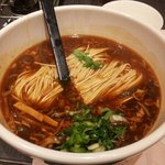 spicy noodle soup