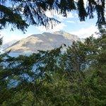 Views during Zipline adventure
