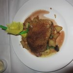 garlic crusted drum