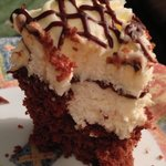 Chocolate Cupcake with Cheesecake Filling...the best of both worlds!!