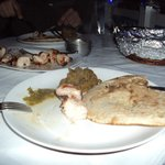 chicken tikka and bangan ka bartha in the hotels was the best we eat in our whole trip throu ind