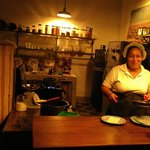 The kitchen at Espressionista Cafe