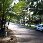 Palm Cove main street.