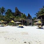 Beach view of Ahau!