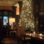 Christmas at The Algonquin lobby