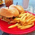 Grilled Mahi Mahi Sandwich