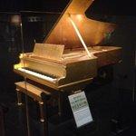 24 carat covered piano _Elvis