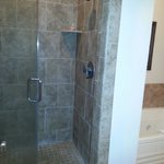 Large oversized walk in shower - room 306
