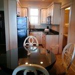 Kitchen area -room 306