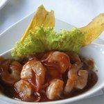 Ceviche de camarón