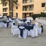 Our private function for 36, buffet, in the