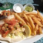 Grilled grouper fish tacos