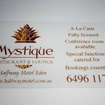 Photo de Restaurant Mystique