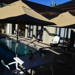 Poolside at Manor 38