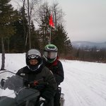 Killington snowmobile tour 2 hours