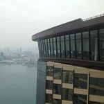 The restaurant from the 41st floor taken from club lounge