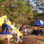 Footprint Camping in BC Marine Parks