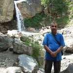 Masouleh Village,small waterfall at the entrance of village