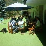 Almuerzo en el Club House