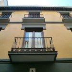 La fachada de Casa Montalbán