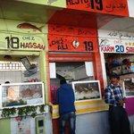 Chez Hassan, restaurant poissons port Agadir. A FUIR