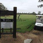 シャトーエラン併設のゴルフ場