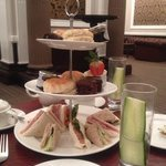 afternoon tea at the Victoria hotel
